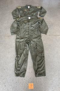 Lot of 2 Vintage Para Military Coveralls Jumpsuit Mechanic