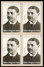 US 4958 Black Heritage Robert Robinson Taylor forever block MNH 2015