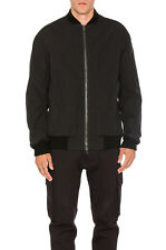 973fda93f6cf Helmut Lang Cotton Insulated Oversized Bomber Jacket Black sz S