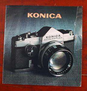 KONICA AUTO-REFLEX SALES BROCHURE/206988