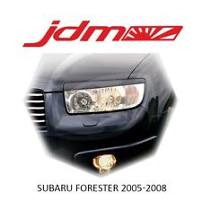 For Subaru Forester 2005 2006 2007 Restyle SG5 SG9 Eyebrows Eyelids Unpainted