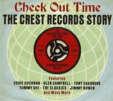 Check Out Time - The Crest Records Story 1955-1962 2CD NEW/SEALED