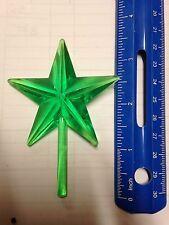 Green Chunky Ceramic Christmas Tree Star Large