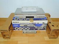 Sony SLV-SE640 VHS-Videorecorder, komplett in OVP w.NEU, 2J. Garantie