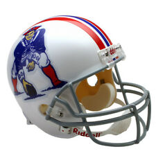NEW ENGLAND PATRIOTS 65-81 THROWBACK NFL FULL SIZE REPLICA FOOTBALL HELMET