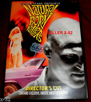 NATURAL BORN KILLERS Directors Cut DVD woody harrelson ROBERT DOWNEY JR