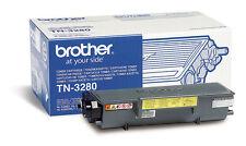 ORIGINALE Brother tn-3280 TONER NERO A dcp-8080dn hl-5370 hl-5350 mfc-8370dn