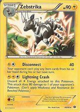 Pokemon Black White Next Destinies Zebstrika 48 99 RARE Card