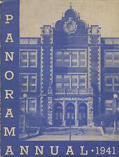 REPRINT: 1941 Binghamton Central High School Yearbook Binghamton NY Rod Serling!