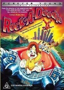 Rock-A-Doodle (DVD, 2005)