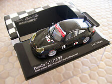 PORSCHE 911 GT3 RS 2005 MINICHAMPS LIMITED Ed 1/43 LE MANS TEST CAR TRIM NIB