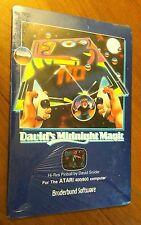 Sealed David's Midnight Magic Pinball  by Broderbund disk game for Atari 400/800