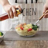 Olive Pump Spray Bottle Oil Sprayer Glass Pot Kettle Kitchen BBQ Tools S7O8