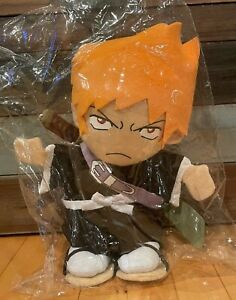 "NWT Great Eastern Bleach Anime Ichigo Kurosaki 13"" Plush Figure Puppet"