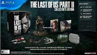 COLLECTORS EDITION Last of Us Part II 2 All VIDEO GAME Ellie STATUE BRACELET PS4