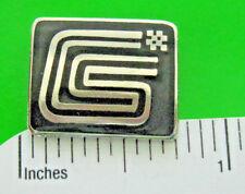 CS CARROLL SHELBY logo  -  hat pin , lapel pin , tie tac GIFT BOXED  (jb)