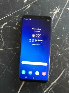 Samsung Galaxy S9 Plus - 64GB - Azul (Libre) (Dual SIM) o (SD + SIM)