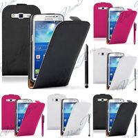 Samsung Galaxy Grand 2 SM-G7106 Housse Coque Etui Pochette Clapet Cuir Véritable