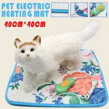 Electric Pet Heating Mat Blanket Heated Cat Dog Heater Pad Bed Winter Waterproof