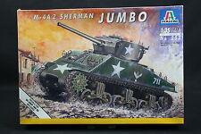 XT010 ITALERI 1/35 maquette tank char 253 Sherman Jumbo M-4 A2 M4 1993