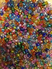 NEW Jewellery Making Beads 4mm - Plastic - 50 Grams, Mixed Colours (2)