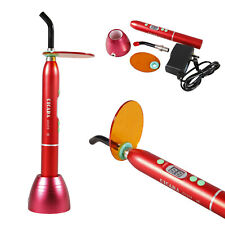 RED Dental LED Curing Light 10W Wireless Cordless Lamp 2000mw Ordinary type-B