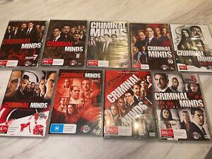 criminal minds dvd Set