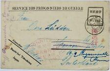 Bando Prisoner of War mail to Germany