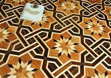 OakTile Parquet Flooring Solid Wood flooring Click System Oiled Floor Tile Art