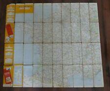 Carte Michelin en toile - Les grandes routes - Voir photos