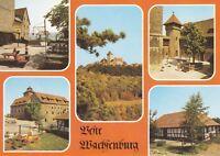Veste Wachsenburg , Holzhausen  , DDR ,Ansichtskarte