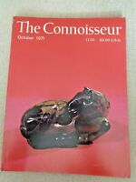 1971 The Connoisseur Castletown House Irish Delftware John Gibson Tinted Venus