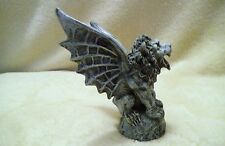 Gothic Gargoyles winged lion sculpture - very nice