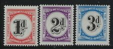 SW Africa 1959 Postage Due set Sc# J91-93 NH