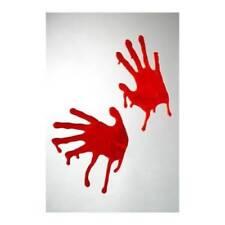 Accessoires d'ambiance rouge horreur pour déguisements et costumes