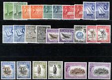ADEN 1953 DEFINITIVES SG48/72 MNH