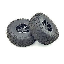 FTX Outlaw 1/10 Ultra-conjunto de 4 ruedas & neumáticos 2 X Ruedas Llantas & 12mm Hex camión oruga