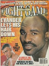 FIGHT GAME MAG PRINCE NASEEM HAMED-EVANDER HOLYFIELD BOXING HOFer SEPTEMBER 1998