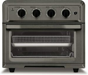 Cuisinart 0.6 Cu. Ft. 1800 Watts Air Fryer Toaster Oven - Black Stainless