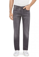7 FOR ALL MANKIND SLIMMY AIRWEFT DENIM HALIDE GREY Was £225 Now £80 size 32