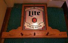 Lite beer coat rack