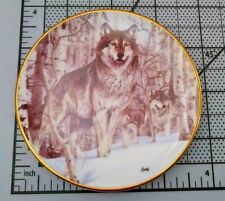 Hamilton Collection by Al Agnew Year Of The Wolf Plate A Second Glance 1998