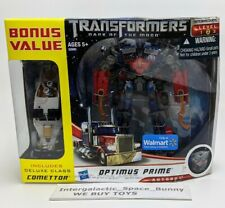 Transformers Dark of the Moon DOTM Voyager Optimus Prime with Comettor Sealed