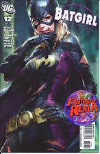 BATGIRL #12 ARTGERM COVER DC COMICS