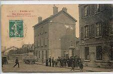 CP 75 Paris - Rue Championnet - Sortie des Ouvriers du Chemin de Fer