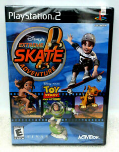 Disney's Extreme Skate Adventure (Sony PlayStation 2, 2003) New Factory Sealed
