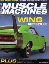 HEMMINGS MUSCLE MACHINES June 2018 '68-'69 AMX '73 Mustang Mach 1 '73 Camaro Z28