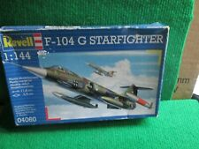 REVELL 04060 F-104 G STARFIGHTER (1:144 SCALE) UNMADE IN BOX