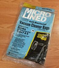 Micro Lined Anti Bacterial Vacuum Cleaner Bags For Eureka Using F & G Style Bags
