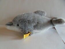 Steiff dolphin   button flag made in  Germany 1103